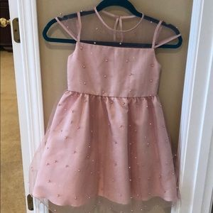 Pink beaded size 6 dress